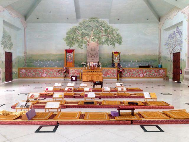Centro tibetano en Sarnath