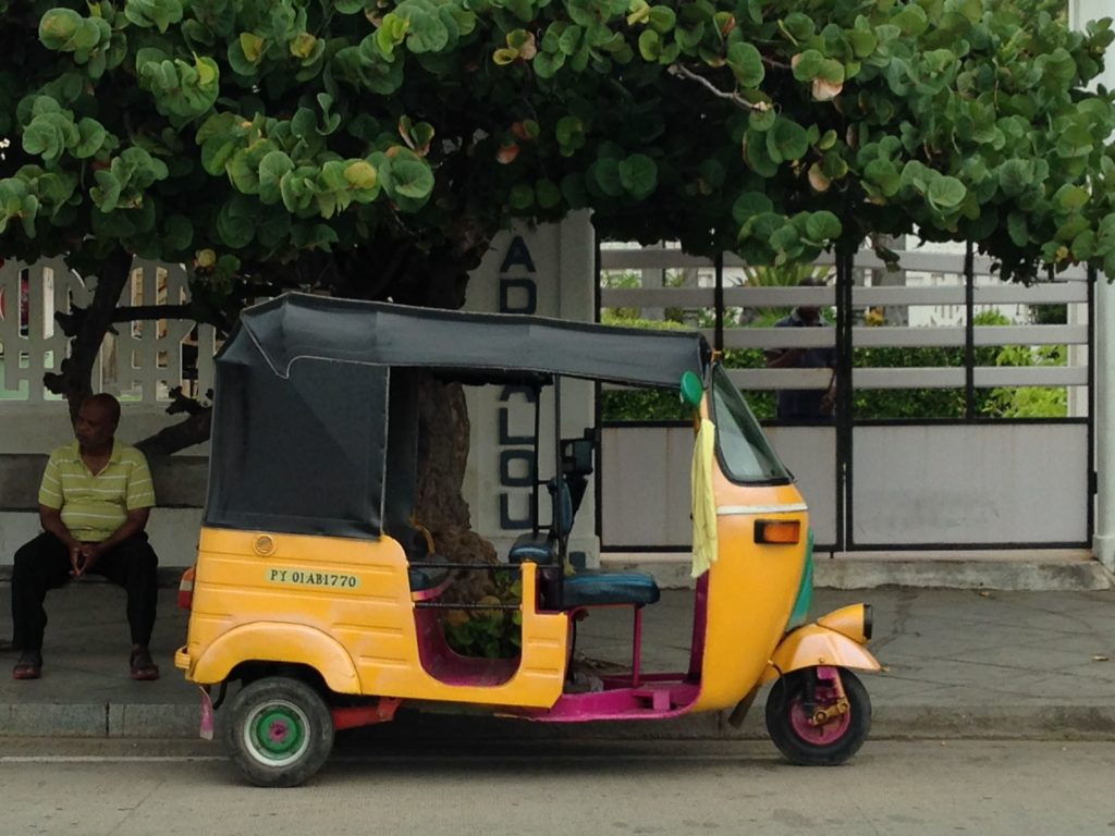 Autorickshaw de Pondicherry
