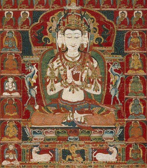 Buda Vairocana en el budismo tibetano